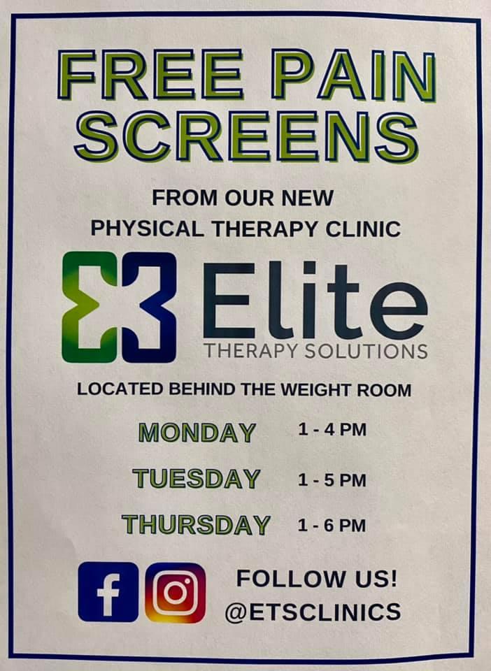 free pain screens